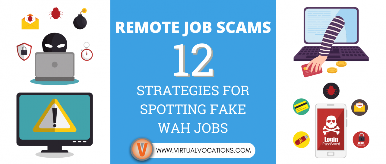 Remote Job Scams: 12 Strategies for Spotting Fake WAH Jobs