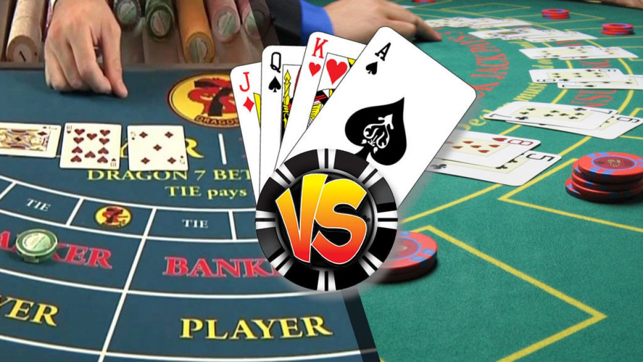Blackjack or Baccarat - Which Is The Best Option When Gambling Online?