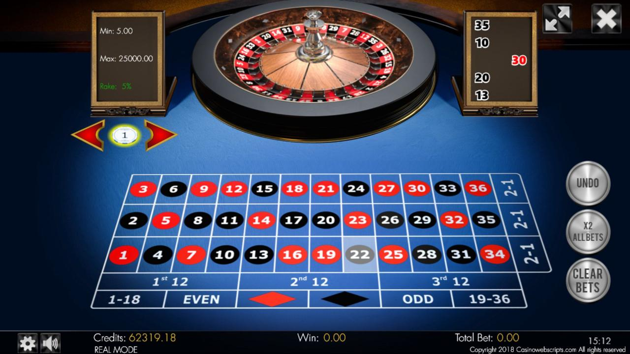 Buy HTML5 Mobile compatible No-Zero Roulette 3D game, featuring HD graphics and available to buy with source codes. T… | Casino games, Roulette, Online casino games